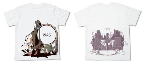 初音ミク 1925 Tシャツ/ホワイト-L(再販)[コスパ]《06月予約》