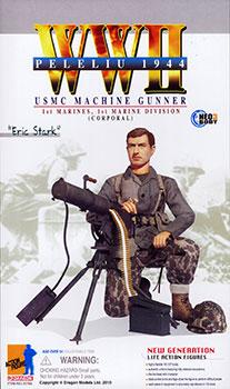 """1/6 WW.II アメリカ海兵隊 第1海兵師団 第1海兵連隊 機関銃手""""エリック・スターク""""アクションフィギュア[プラッツ]《在庫切れ》"""