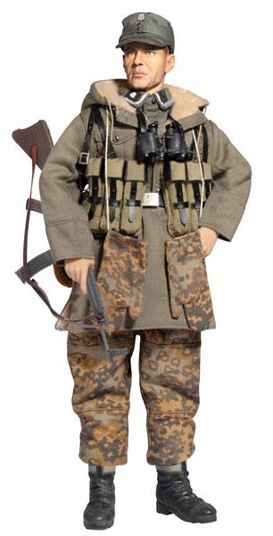 アクションフィギュア 1/6 WW.II ドイツ武装親衛隊 第3SS装甲師団 トーテンコップフ 装甲擲弾兵連隊 テオドール・アイケ[プラッツ]《在庫切れ》