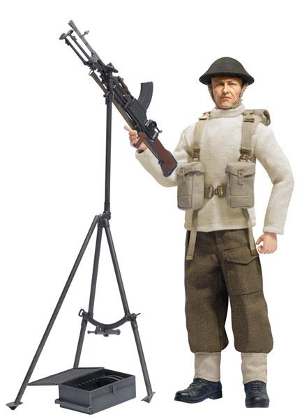 """アクションフィギュア 1/6 WW.II イギリス海外派遣軍 ブレン軽機関銃手""""ダニエル・ウィンストン""""ダンケルク 1940年[プラッツ]《在庫切れ》"""