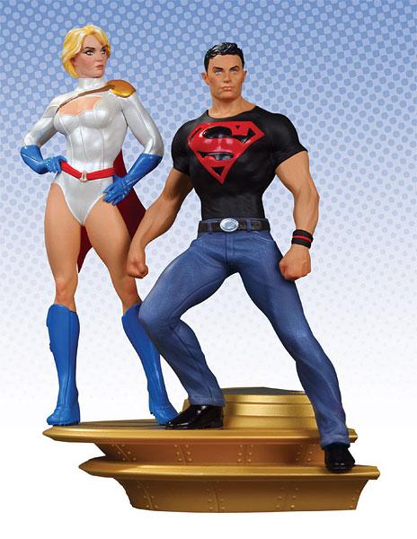 DC スーパーマン ファミリー Part 1  スーパーボーイ&パワーガール[DCダイレクト]《在庫切れ》