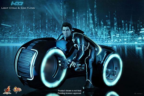 ムービー・マスターピース トロン:レガシー 1/6スケール フィギュア ライトサイクル&サム・フリン 単品