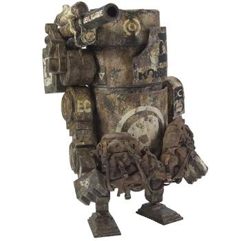 ワールド・ウォー・ロボット ラージ・マーチン(サンドデビル) 9インチフィギュア 単品[スリー・エー]《在庫切れ》