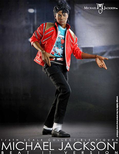 【HOTTOYS 10周年 限定品】マイコン 1/6スケールフィギュア マイケル・ジャクソン(今夜はビート・イット版) 単品