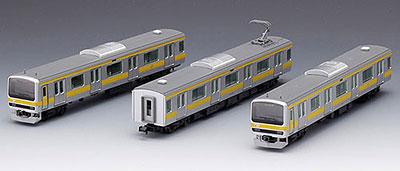 92343 E231系通勤電車(総武線)基本3両セット(再販)[TOMIX]《発売済・在庫品》