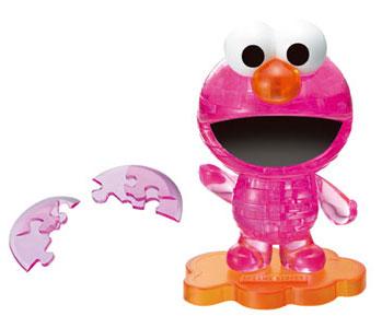 クリスタルパズル エルモ ピンク[ビバリー]《在庫切れ》