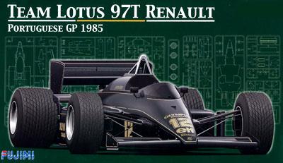 1/20 グランプリシリーズ No.23 ロータス97 ポルトガルGP プラモデル[フジミ模型]《取り寄せ※暫定》