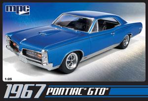 1/25 1967 ポンティアック GTO プラモデル(再販)[MPC]《08月予約※暫定》