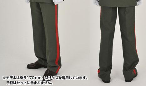 おとめ妖怪ざくろ 陸軍少尉軍服 パンツ/メンズ-L[コスパ]《在庫切れ》