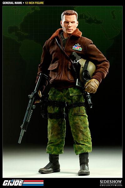 G.I.ジョー 12インチアクションフィギュア 総司令官 ホーク 単品[サイドショウ]《在庫切れ》