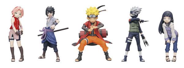 Half Age Characters NARUTO -ナルト- 疾風伝 BOX[バンダイ]《在庫切れ》