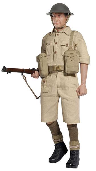 """アクションフィギュア 1/6 WW.II イギリス陸軍 第8軍""""チャールズ・ブラック""""1942[プラッツ]《在庫切れ》"""