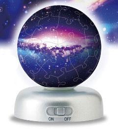 ジグソー 光る球体パズル パズランタン ザ・ユニバース 60ピース(2003-393)[やのまん]《在庫切れ》