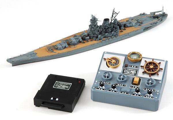 技MIX 地上航行模型シリーズ CK01 戦艦大和・組立キット(再販)[トミーテック]《在庫切れ》