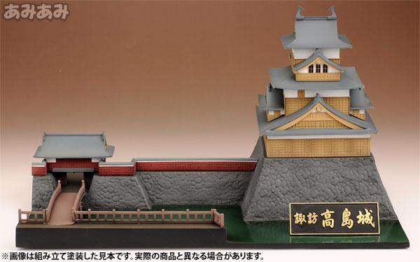 プラモデル 1/200 諏訪 高島城(通常版)[プラム]《在庫切れ》