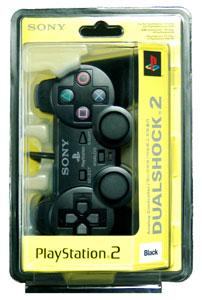 PS2 【ソニー純正 アジア版】デュアルショック2 ブラック[ソニー]《在庫切れ》