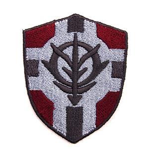 機動戦士ガンダム 公国軍旗盾型 脱着式ワッペン(マジックテープ式)(再販)[コスパ]《10月予約》