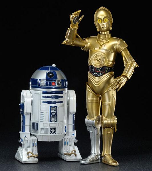 ARTFX+ スター・ウォーズ R2-D2&C-3PO 1/10 簡易組立キット