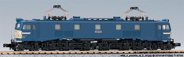 3020-1 EF58 後期形 大窓ブルー(再販)[KATO]《07月予約》