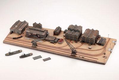 技MIX 地上航行模型シリーズ CK02 情景ストラクチャー 艤装工場地帯セット[トミーテック]《在庫切れ》