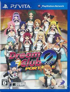 PS Vita Dream C Club ドリームクラブZERO ポータブル[D3パブリッシャー]《在庫切れ》