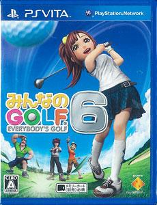 PS Vita みんなのGOLF 6[SCE]《在庫切れ》