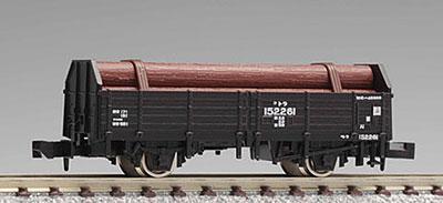 2726 国鉄貨車トラ145000形(木材付)(再販)[TOMIX]《10月予約》