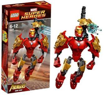 レゴ スーパー・ヒーローズ アイアンマン (4529)[レゴジャパン]《在庫切れ》