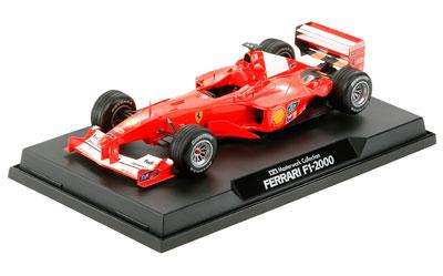マスターワークコレクション 完成品 1/20 フェラーリ F-1 2000 フランスGP #4 (バリチェロ仕様)[タミヤ]《在庫切れ》