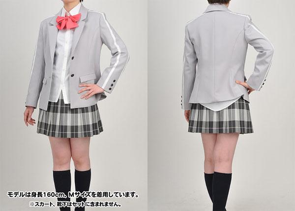 這いよれ!ニャル子さん 市立昂陵高等学校 女子制服 ジャケットセット/レディース-M(再販)[コスパ]《在庫切れ》