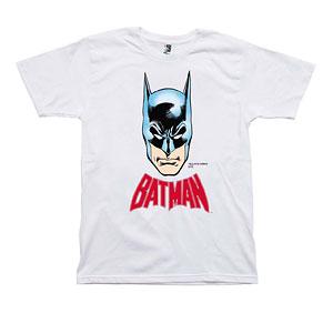 MLE DC COMIC シリーズ Tシャツ バットマンイラスト/白-XS[メディコム・トイ]《在庫切れ》