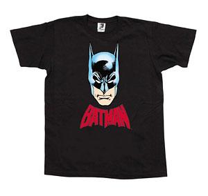 MLE DC COMIC シリーズ Tシャツ バットマンイラスト/黒-S[メディコム・トイ]《在庫切れ》
