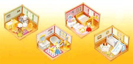 シルバニアファミリー ミニシリーズ BOX(食玩・2012年版)[カバヤ食品]《在庫切れ》