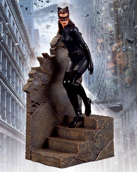 バットマン ダークナイト ライジング 1/12スケールスタチュー キャットウーマン 単品[DCダイレクト]《在庫切れ》