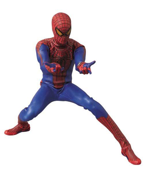 リアルアクションヒーローズ No.591 アメイジング・スパイダーマン[メディコム・トイ]《在庫切れ》