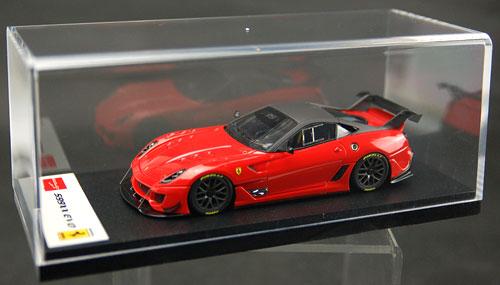 AmiAmi [Character U0026 Hobby Shop] | Handmade Model Car 1/43 Ferrari 599XX  Evo. F1 Red/ Gray Roof(Back Order)