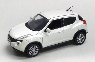 AmiAmi [Character U0026 Hobby Shop] | J Collection Diecast Model 1/43 Nissan  Juke White Pearl