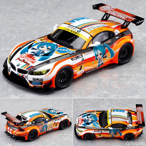 ミニカー 初音ミク and Future Stars Project mirai 1/32 ProjectMirai BMW 2012開幕ver.[グッドスマイルレーシング]《在庫切れ》