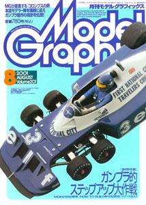 モデルグラフィックス 01・08月 Vol.201(雑誌)[大日本絵画]《在庫切れ》