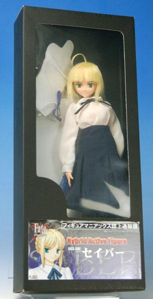 Fate/stay night セイバー (私服) ハイブリッドアクティブフィギュア (フィギュアマニアックス誌上通販限定版)