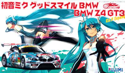 1/24 初音ミク グッドスマイルBMW (BMW Z4 GT3) Rd3 Sepang プラモデル