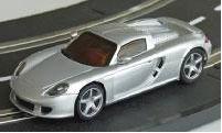 スロットカー Dslot43 スペアボディ 1/43 ポルシェ カレラ GT (シルバー)[京商]《在庫切れ》