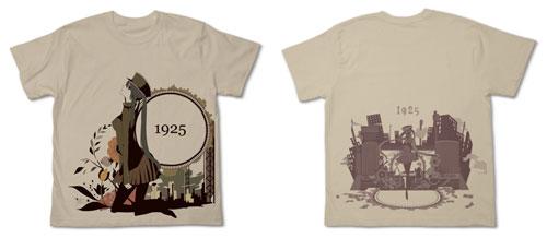 初音ミク 1925 Tシャツ/ライトベージュ-L(再販)[コスパ]《06月予約》