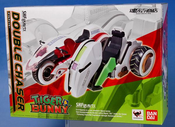 【中古】(本体B/箱B)S.H.フィギュアーツ TIGER&BUNNY(タイガー&バニー) ダブルチェイサー(魂ウェブ限定)[バンダイ]《発売済・在庫品》