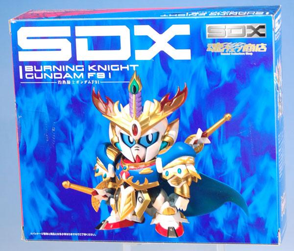 【中古】(本体B/箱B)SDX 灼熱騎士ガンダムF91 (魂ウェブ限定)[バンダイ]《発売済・在庫品》