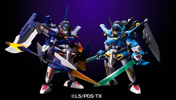 ダンボール戦機 LBX Z-モードシリーズ LBXイカロス・ゼロ&LBXイカロス・フォース 塗装済み完成品モデル