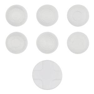 CYBER・アナログスティックカバーセット (Wii U GamePad用) ホワイト(再販)[サイバーガジェット]《11月予約※暫定》