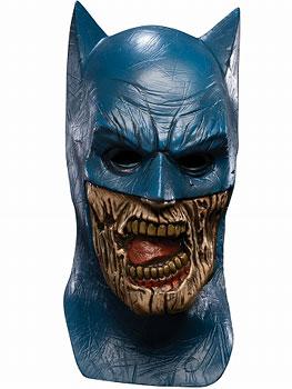 ブラッケスト・ナイト/ アダルト マスク デラックス: ブラックランタン バットマン[ルービーズ]《在庫切れ》