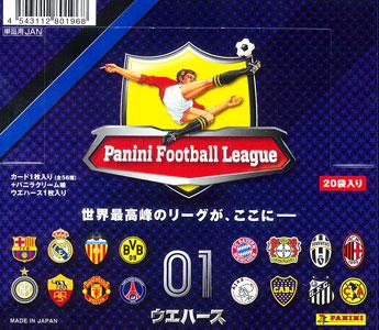 パニーニ フットボール リーグ ウエハース01 BOX(食玩)[バンダイ]《在庫切れ》