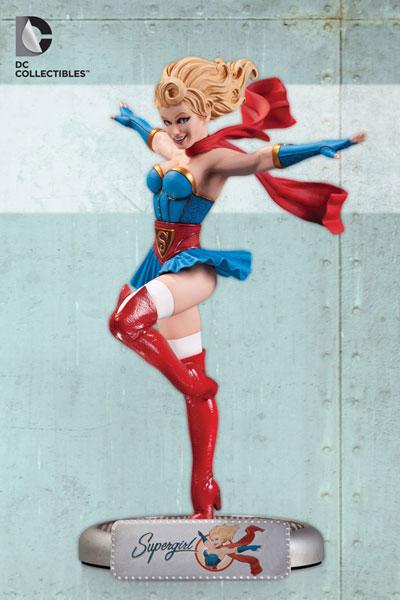 DCコミックス ボムシェルズ スタチュー スーパーガール 単品[DCコレクティブル]《在庫切れ》